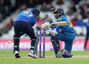 Dinesh Chandimal was bowled sweeping at David Willey, England v Sri Lanka, 4th ODI, The Oval, June 29, 2016