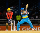 Shane Watson plays the cut, Trinbago Knight Riders v St Lucia Zouks, CPL 2016, Port of Spain, June 29, 2016