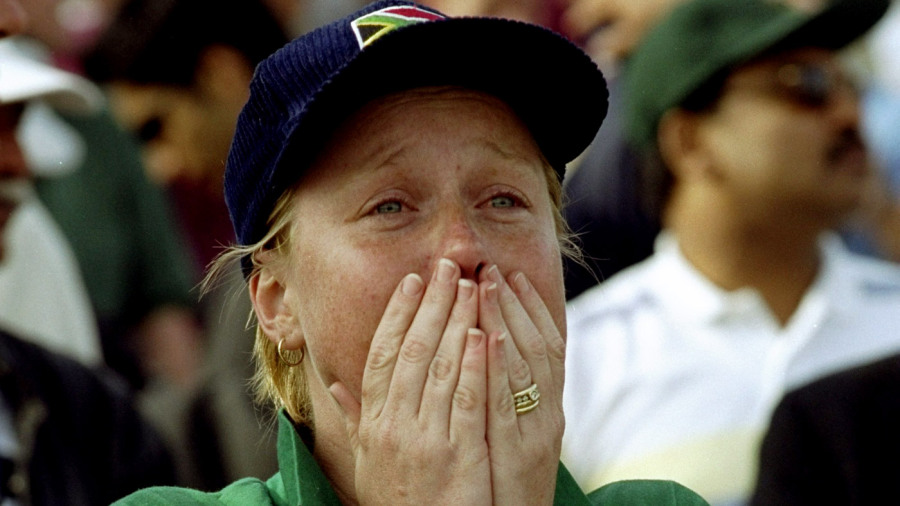 The 1999 semi-final remains South Africa's cruellest World Cup exit