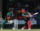 Brad Hodge goes big on the leg side, St Kitts and Nevis Patriots v Guyana Amazon Warriors, CPL 2016, Basseterre, June 30, 2016