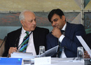 PCB's Shaharyar Khan and Subhan Ahmad attend the ICC meeting, Edinburgh, June 30, 2016