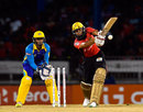 Hashim Amla hits out on his way to 81, Trinbago Knight Riders v Barbados Tridents, CPL 2016, Port-of-Spain, July 1, 2016