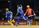 Akeal Hosein took 2 for 18 in four overs, Trinbago Knight Riders v Barbados Tridents, CPL 2016, Port-of-Spain, July 1, 2016