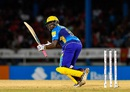 Steven Taylor made a run-a-ball 37, Trinbago Knight Riders v Barbados Tridents, CPL 2016, Port-of-Spain, July 1, 2016