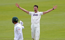 Paul van Meekeren took two wickets on his Somerset debut, Somerset v Pakistanis, Taunton, 1st day, July 3, 2016