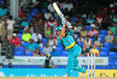 Shane Watson drives through the off side during his knock of 55, St Kitts and Nevis Patriots v St Lucia Zouks, CPL 2016, July 3, 2016, Basseterre