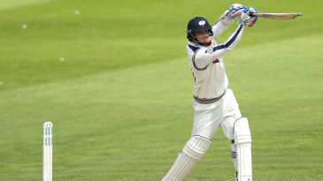 Jack Brooks helped Yorkshire over 400