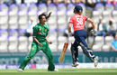 Aiman Anwer celebrates the wicket of Lauren Winfield, England Women v Pakistan Women, 2nd T20I, Southampton, July 5, 2016