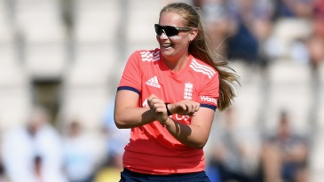 Sophie Ecclestone sparkled in her second international match
