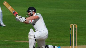 David Lloyd, Glamorgan batsmen, held off Sussex