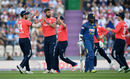 Liam Plunkett celebrates the wicket of Kusal Perera, England v Sri Lanka, only T20I, Southampton, July 5, 2016