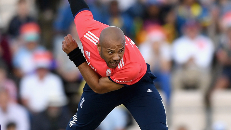 Tymal Mills hit 92mph on his England debut