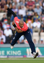 Tymal Mills hit 92mph on his England debut, England v Sri Lanka, only T20I, Southampton, July 5, 2016