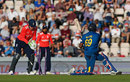 Angelo Mathews missed his sweep at Liam Dawson, England v Sri Lanka, only T20I, Southampton, July 5, 2016