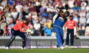 Ramith Rambukwella heaves the leg side, England v Sri Lanka, only T20I, Southampton, July 5, 2016