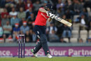 Eoin Morgan found the middle of the bat, England v Sri Lanka, only T20I, Southampton, July 5, 2016