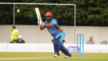 Mohammad Shahzad gave Afghanistan a brisk start