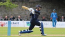 Craig Wallace unleashes a switch hit, Scotland v Afghanistan, 2nd ODI, Edinburgh, July 6, 2016
