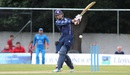 Matthew Cross shapes to pull, Scotland v Afghanistan, 2nd ODI, Edinburgh, July 6, 2016