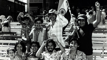 India fans enjoy the day out at the SCG