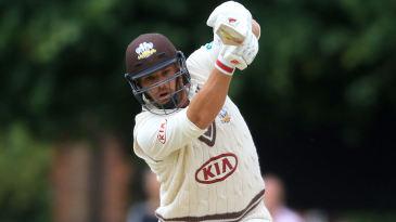 Aaron Finch bats for Surrey