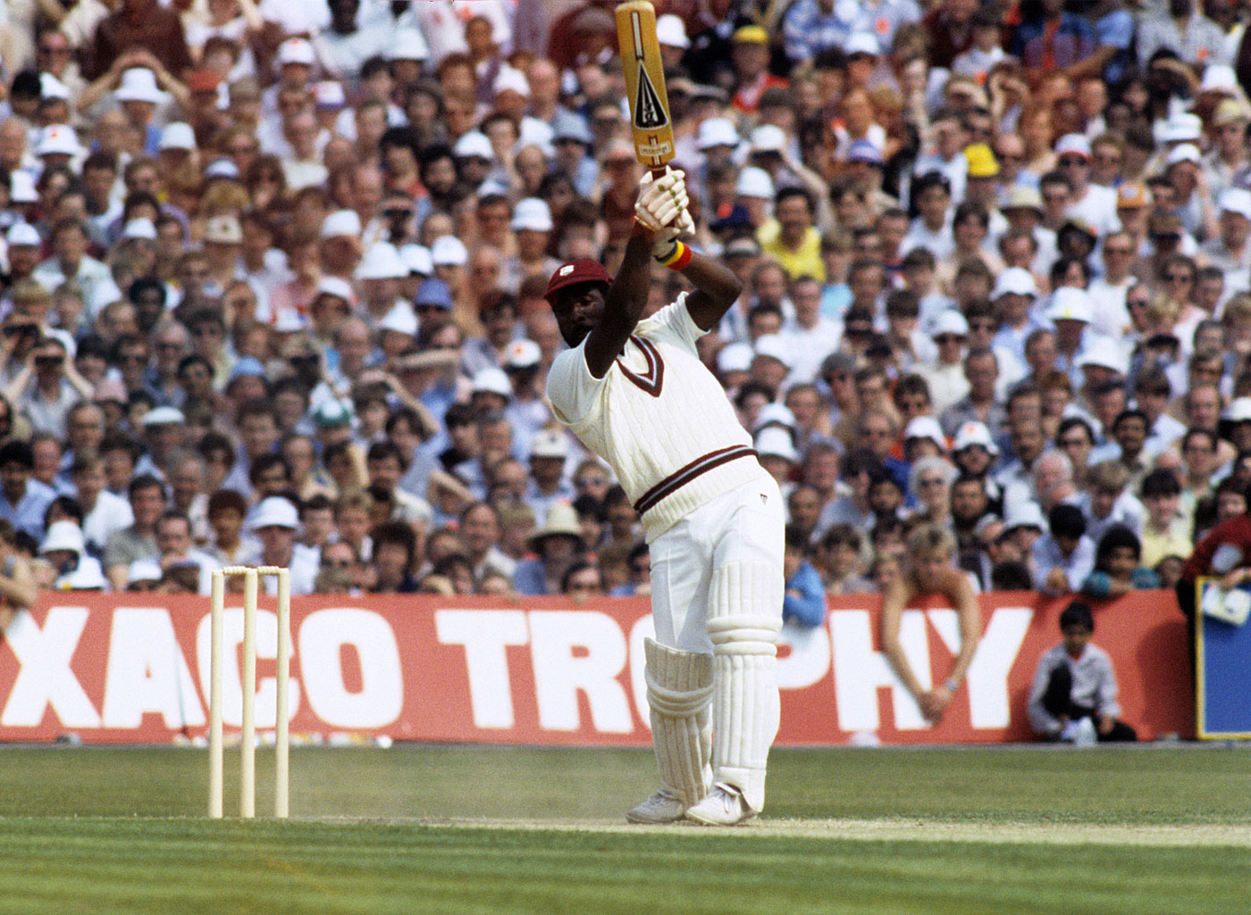 Viv Richards during his record-breaking 189