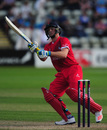 Jos Buttler brings out the scoop, Worcestershire v Lancashire, NatWest T20 Blast, North Group, New Road, July 8, 2016