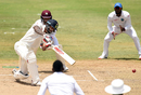 Shikhar Dhawan looks to drive through the off side, WICB President's XI v Indians, tour match, 1st day, Basseterre, July 9, 2016