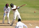Rohit Sharma pulls en route to his fifty, WICB President's XI v Indians, 1st day, Basseterre, July 9, 2016
