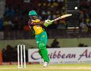 Jason Mohammed pulls off the back foot, Guyana Amazon Warriors v Trinbago Knight Riders, CPL 2016, Providence, July 10, 2016