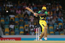 Chris Gayle was in his usual aggressive mode, Barbados Tridents v Jamaica Tallawahs, CPL 2016, Bridgetown, July 11, 2016