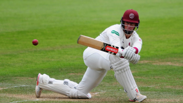 Marcus Trescothick moved within one hundred of Harold Gimblett