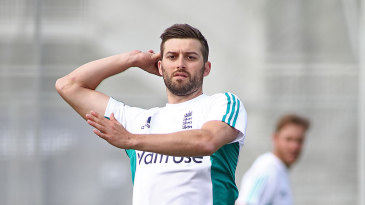 Mark Wood, recovering from ankle surgery, bowls in the nets ahead of the first Test