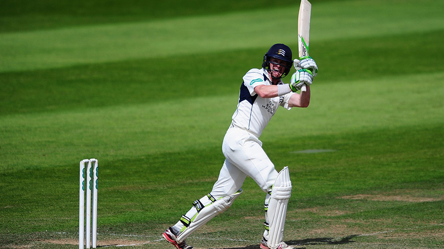 Nick Gubbins led Middlesex's run chase at Taunton