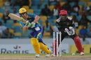AB de Villiers targets the leg side, Barbados Tridents v St Kitts and Nevis Patriots, CPL 2016, Barbados, July 13, 2016