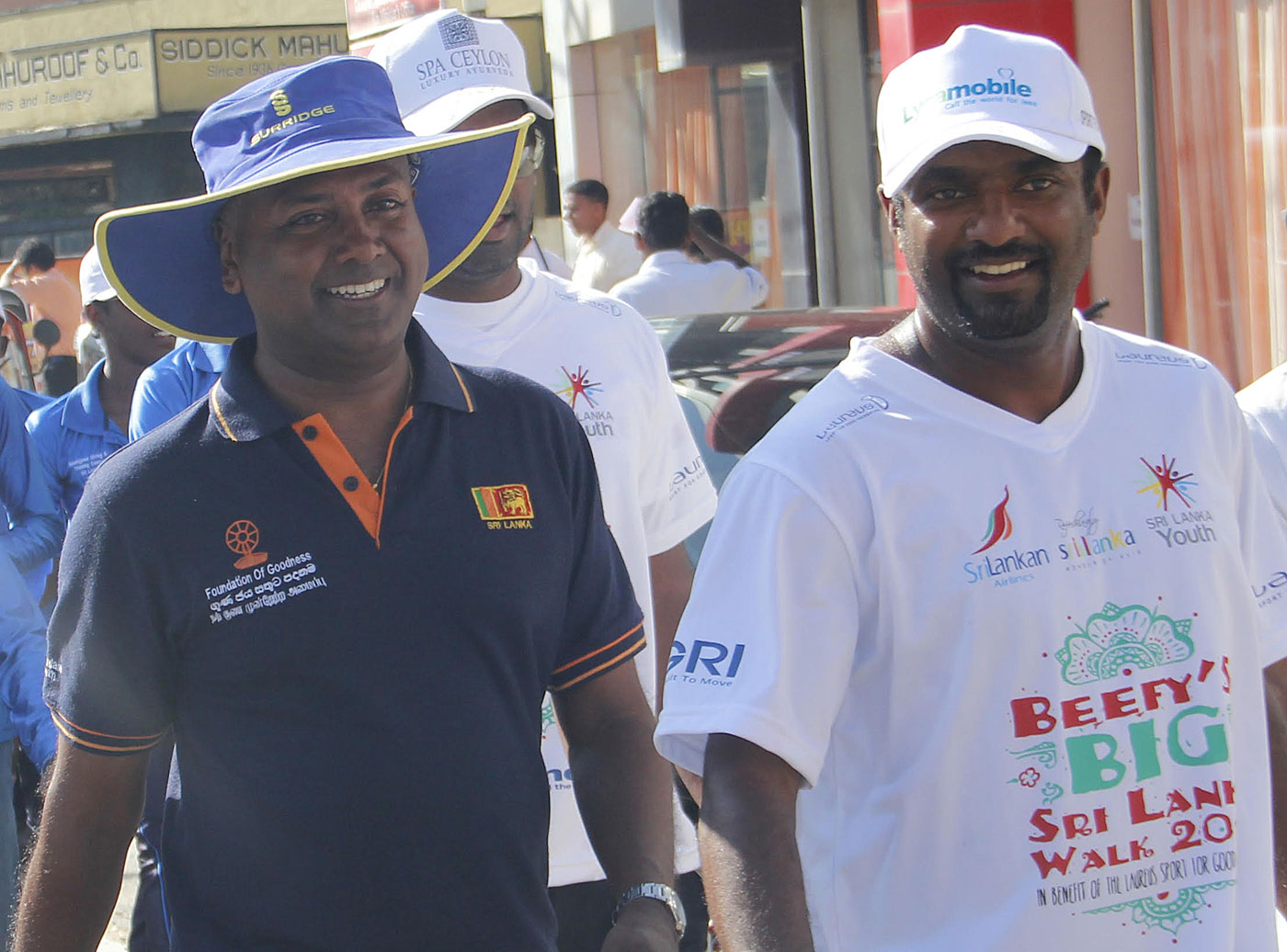Kushil Gunasekera's association with Murali began in 2000, and he went on to be Murali's manager
