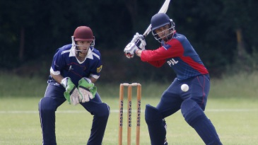 Sharad Vesawkar  made a half-century in Nepal's win