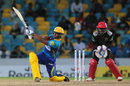 Nicholas Pooran struck four sixes during his 19-ball 38, Barbados Tridents v St Kitts and Nevis Patriots, CPL 2016, Barbados, July 13, 2016