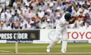 Rahat Ali was bowled by Chris Woakes for a duck,  England v Pakistan, 1st Investec Test, Lord's, 2nd day, July 15, 2016