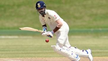 KL Rahul targets the leg side
