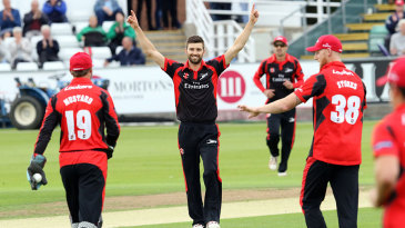 Mark Wood finished with 1 for 19