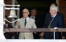 Yorkshire president John Hampshire rang the five-minute bell on the third day, England v Pakistan, 1st Investec Test, Lord's, 3rd day, July 16, 2016