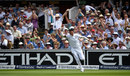 Alex Hales held the catch at deep midwicket to remove Misbah-ul-Haq, England v Pakistan, 1st Investec Test, Lord's, 3rd day, July 16, 2016