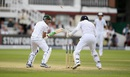 Younis Khan was bowled via a bottom edge for 25, England v Pakistan, 1st Investec Test, Lord's, 3rd day, July 16, 2016