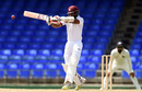 Shai Hope shapes up for a pull shot, WICB President's XI v Indians, Basseterre, 3rd day, July 16, 2016