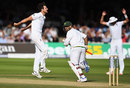 Steven Finn shows his anger as Jonny Bairstow drops a catch, England v Pakistan, 1st Investec Test, Lord's, 3rd day, July 16, 2016