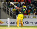 Shakib Al Hasan struck an unbeaten 34 off 17, Jamaica Tallawahs v St Kitts and Nevis Patriots, CPL 2016, Kingston, July 16, 2016