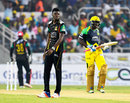 Alzarri Joseph leaked 63 runs in four overs, Jamaica Tallawahs v St Kitts and Nevis Patriots, CPL 2016, Kingston, July 16, 2016