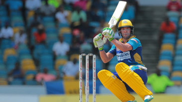 AB de Villiers goes low while playing a shot