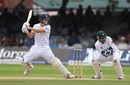 Gary Ballance plays a cut, England v Pakistan, 1st Investec Test, Lord's, 4th day, July 17, 2016